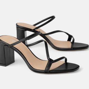 Zara Heeled Sandals - NWT size EU 38